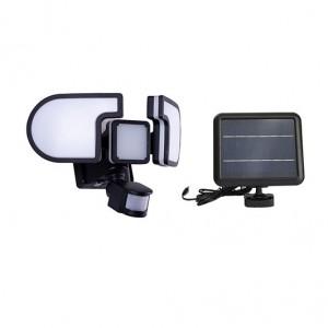 Solar Motion Sensor LED flood Light milky 1500lm