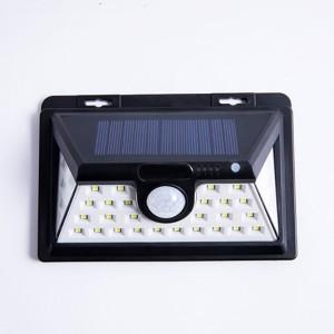 Solar motion sensor light 44LED outdoor garden light